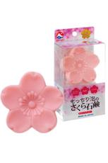 日本の恵み もっちり泡のさくらの石鹸